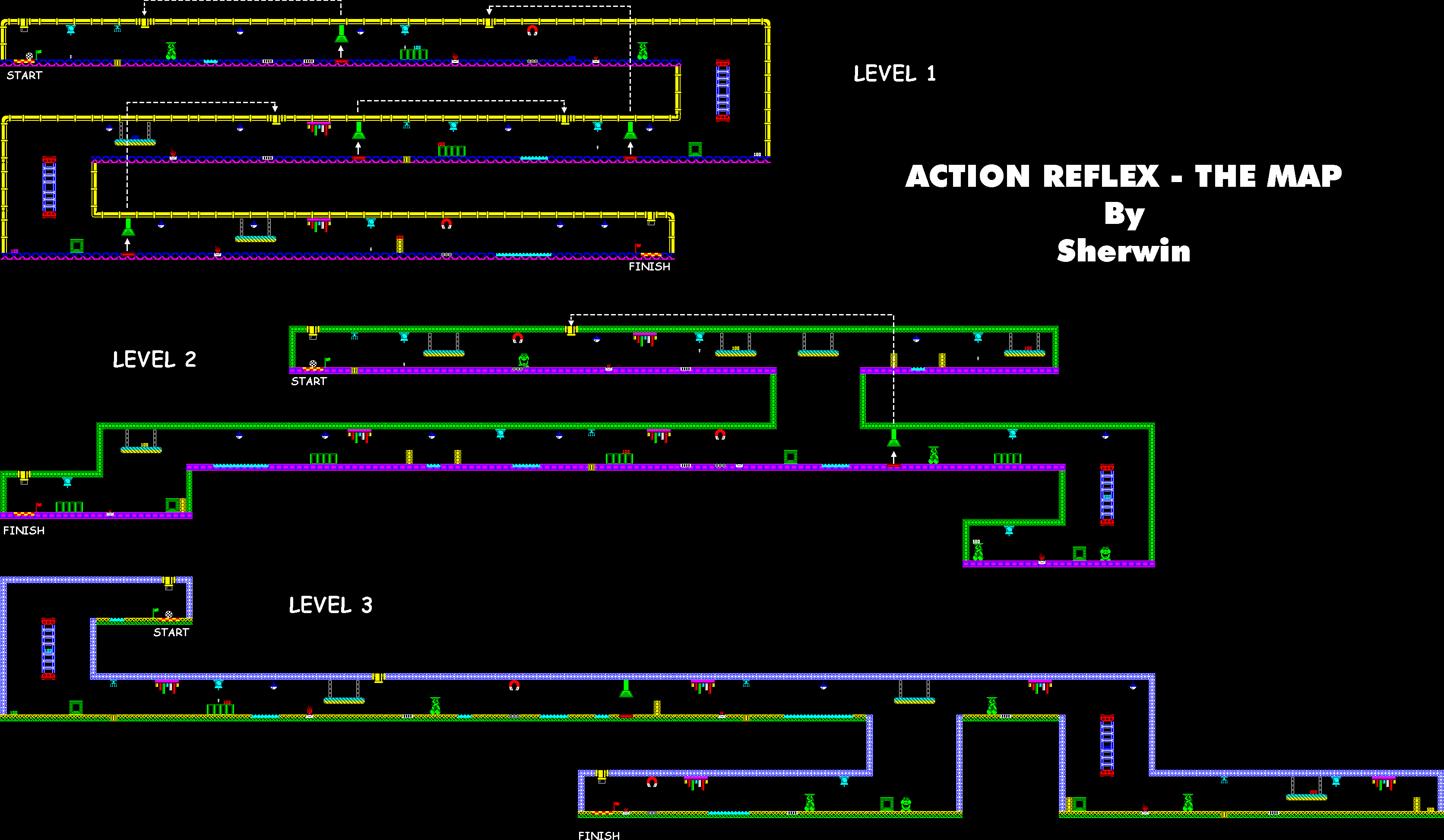 Action Reflex - The Map