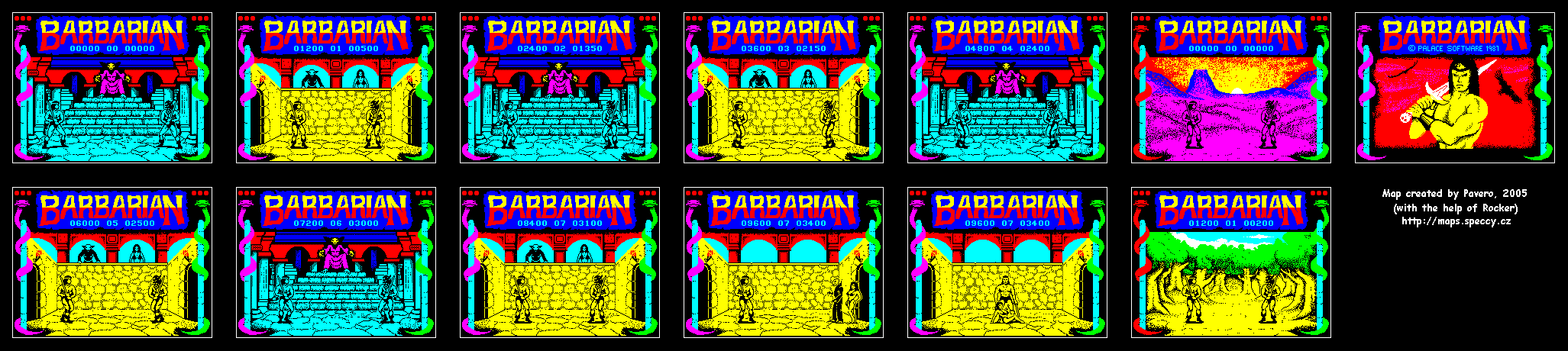 Barbarian 1 - The Map