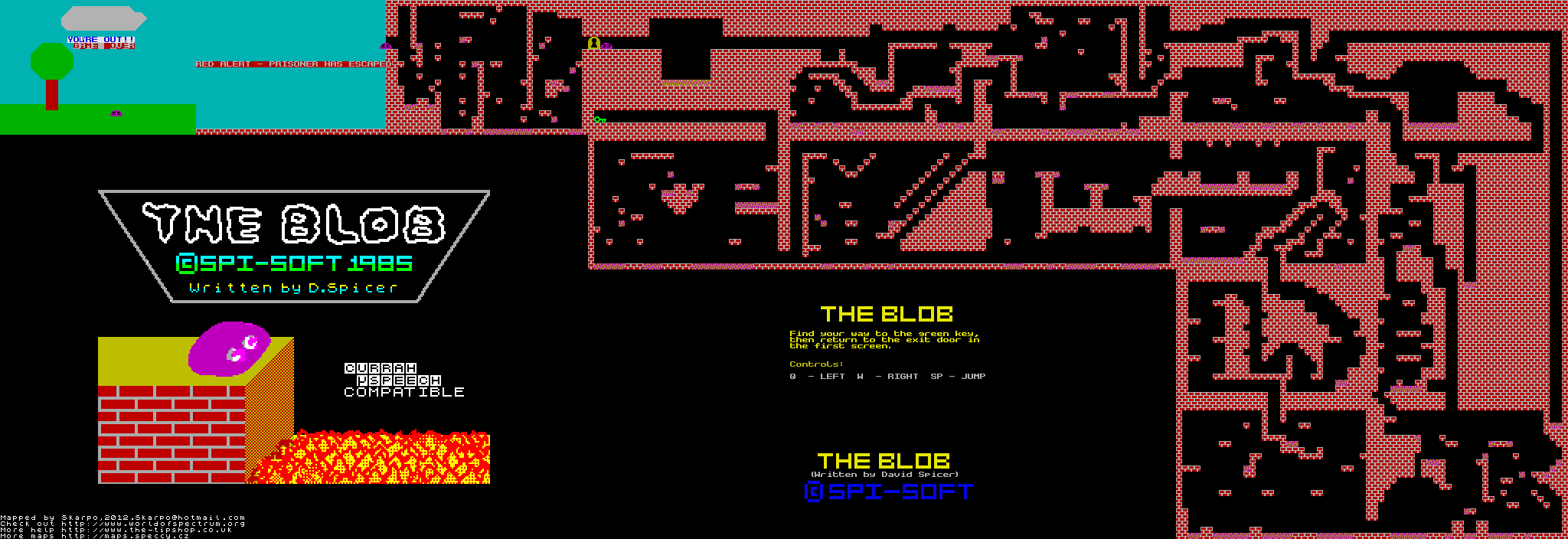 Blob - The Map