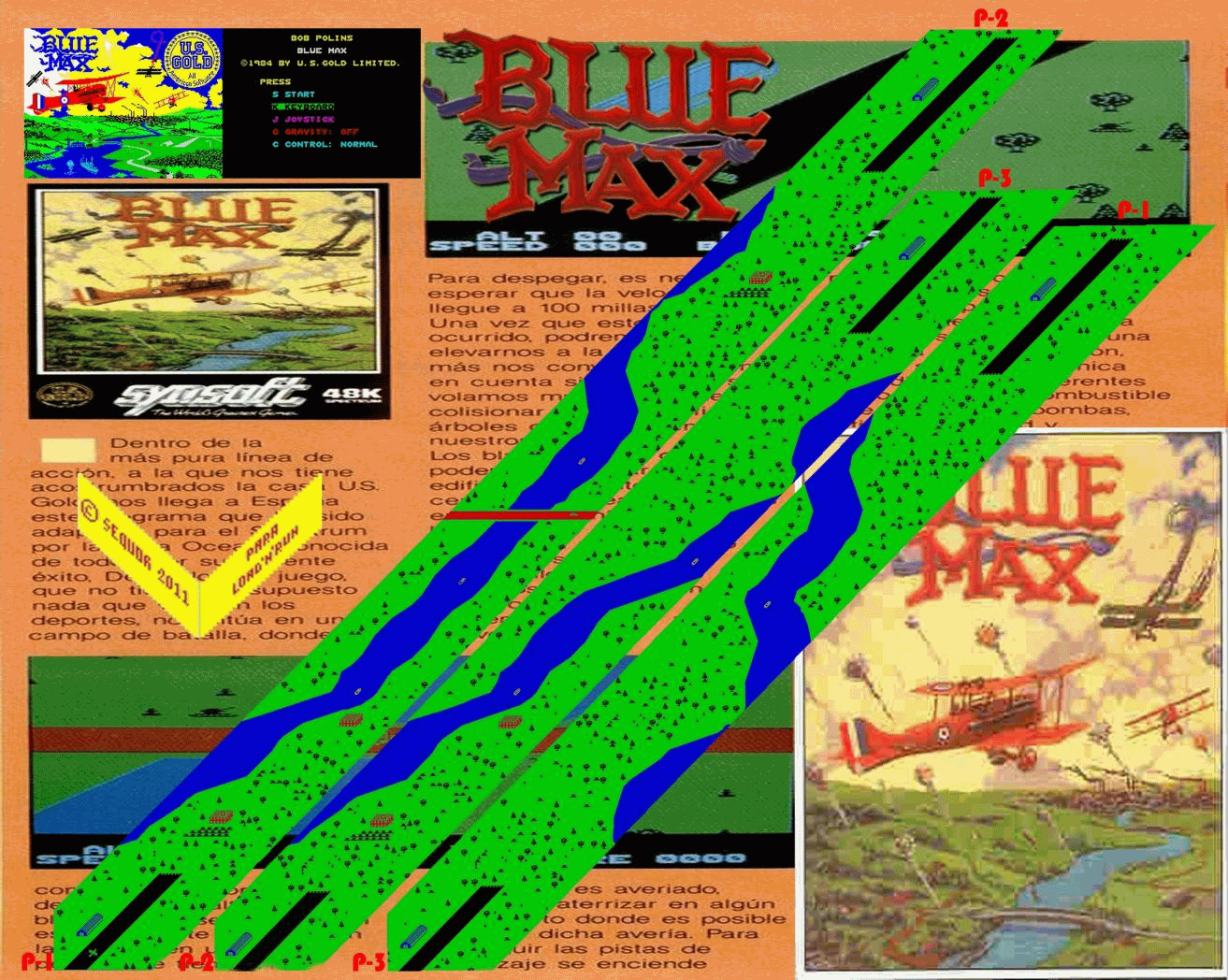 Blue Max (1) - The Map