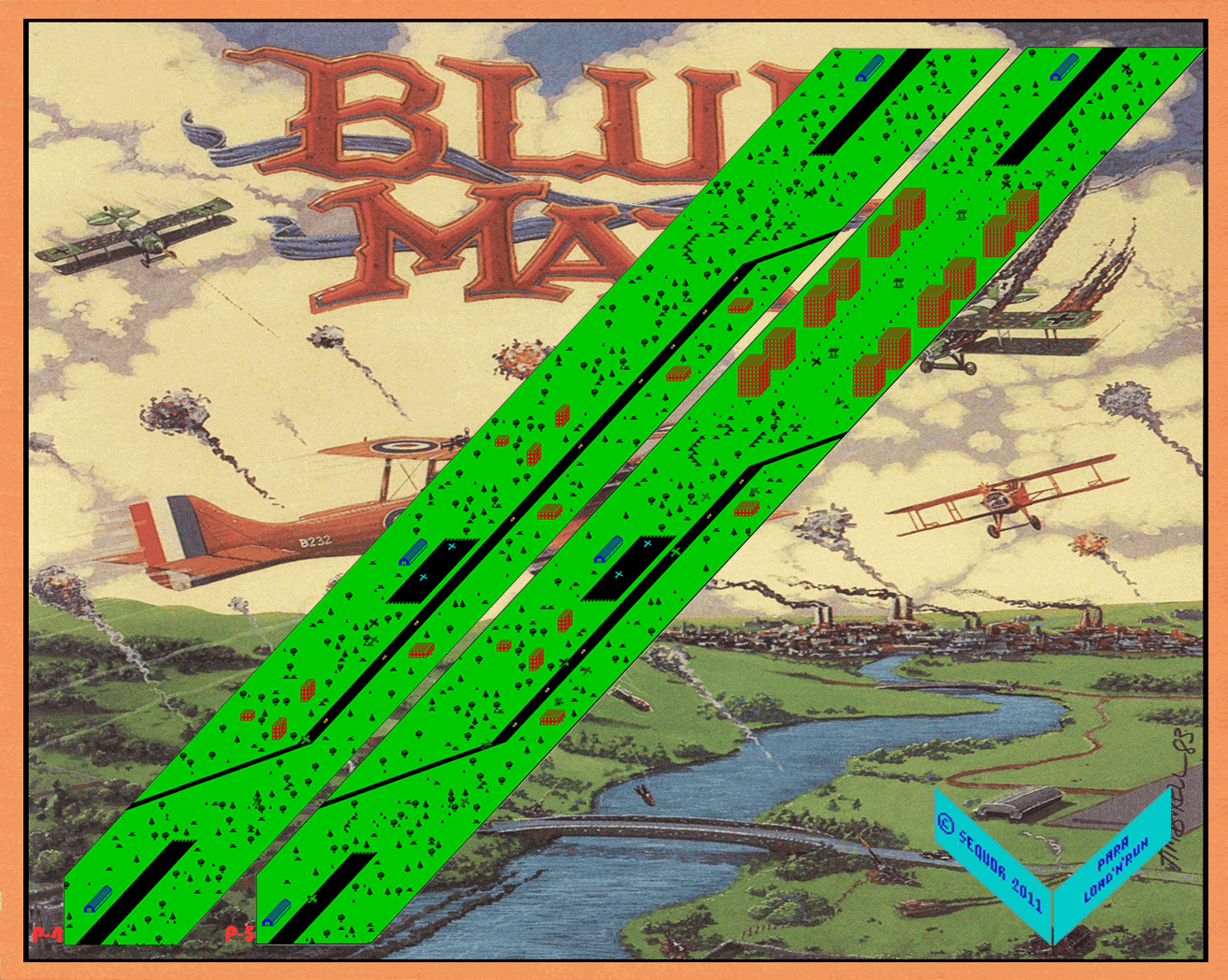 Blue Max (2) - The Map