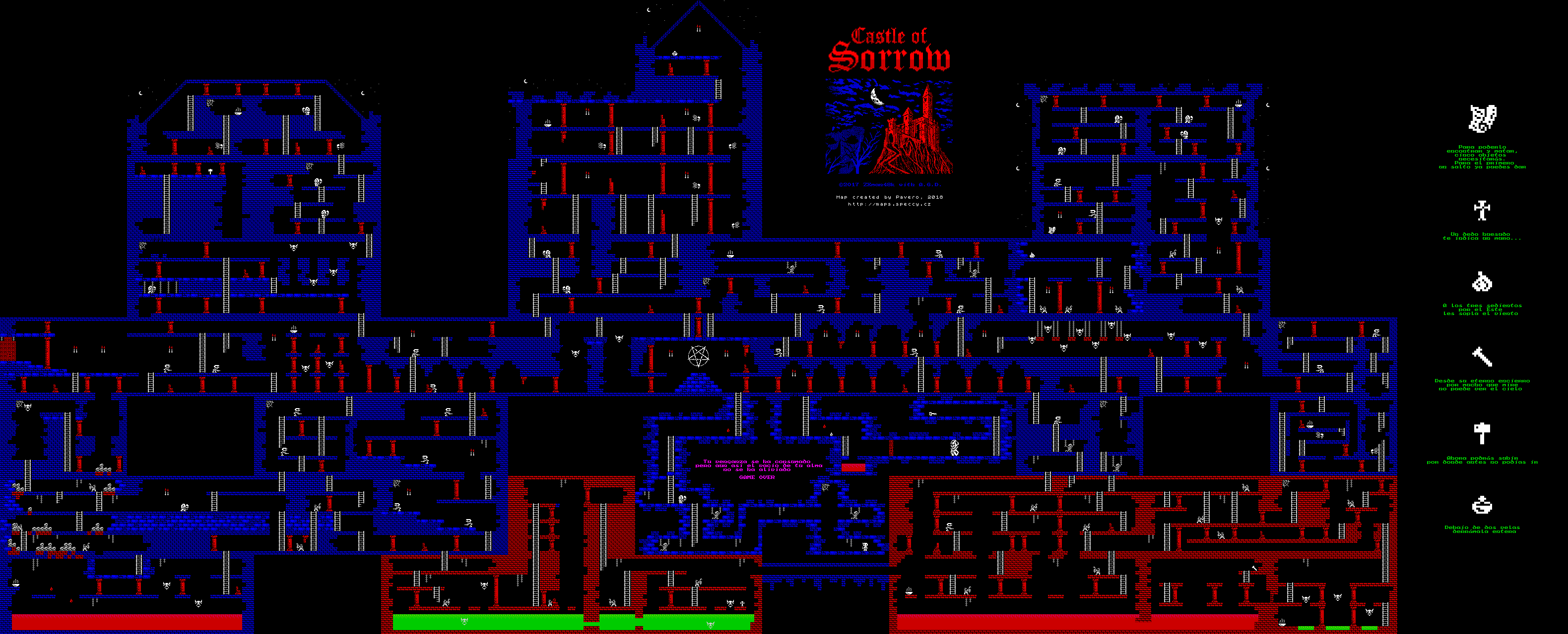 Castle of Sorrow - The Map