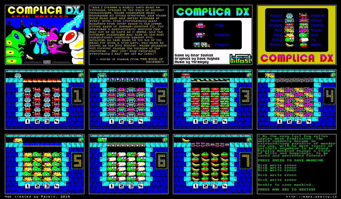 Complica DX - The Map