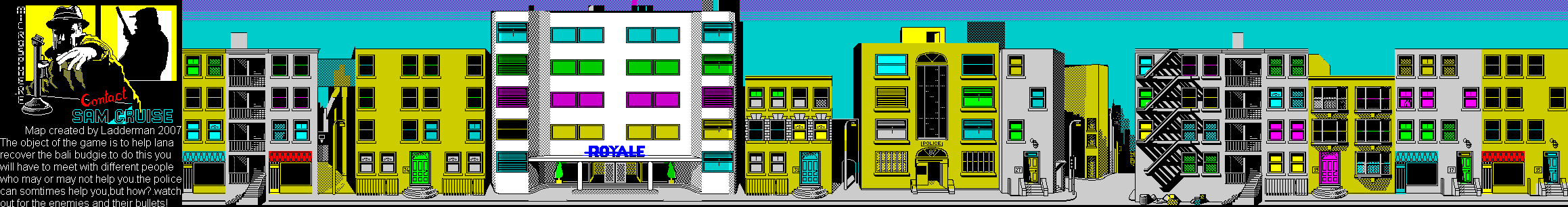 Contact Sam Cruise - The Map