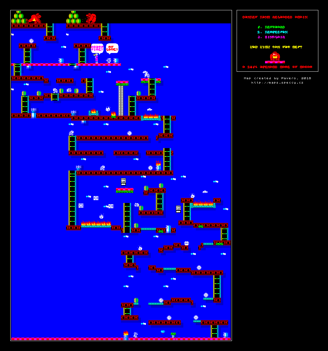 Donkey Kong Reloaded Again - The Map