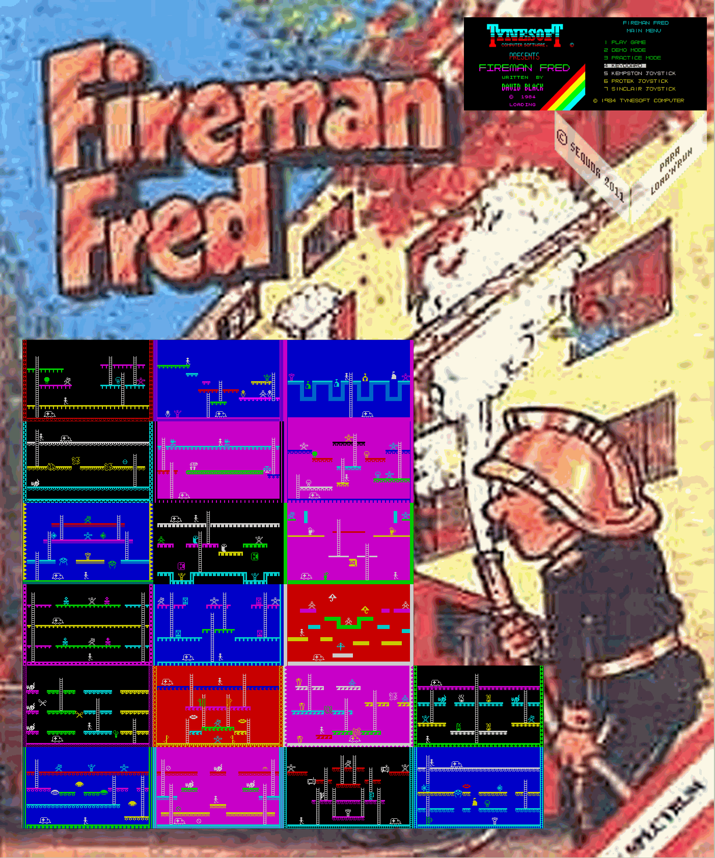 Fireman Fred - The Map