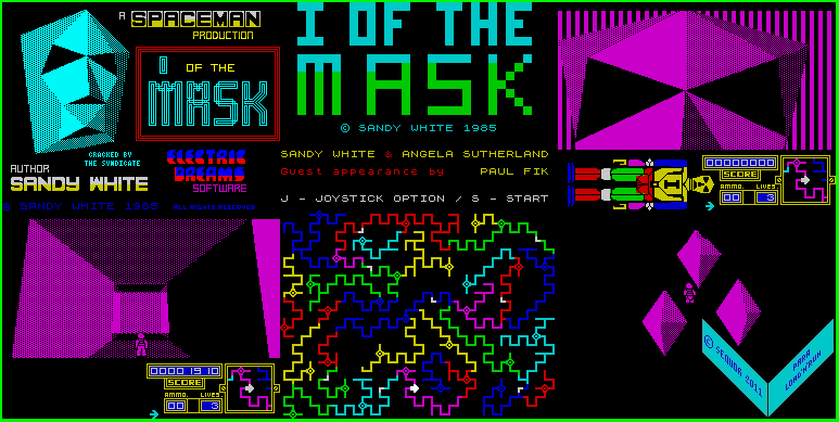I, of the Mask - The Map