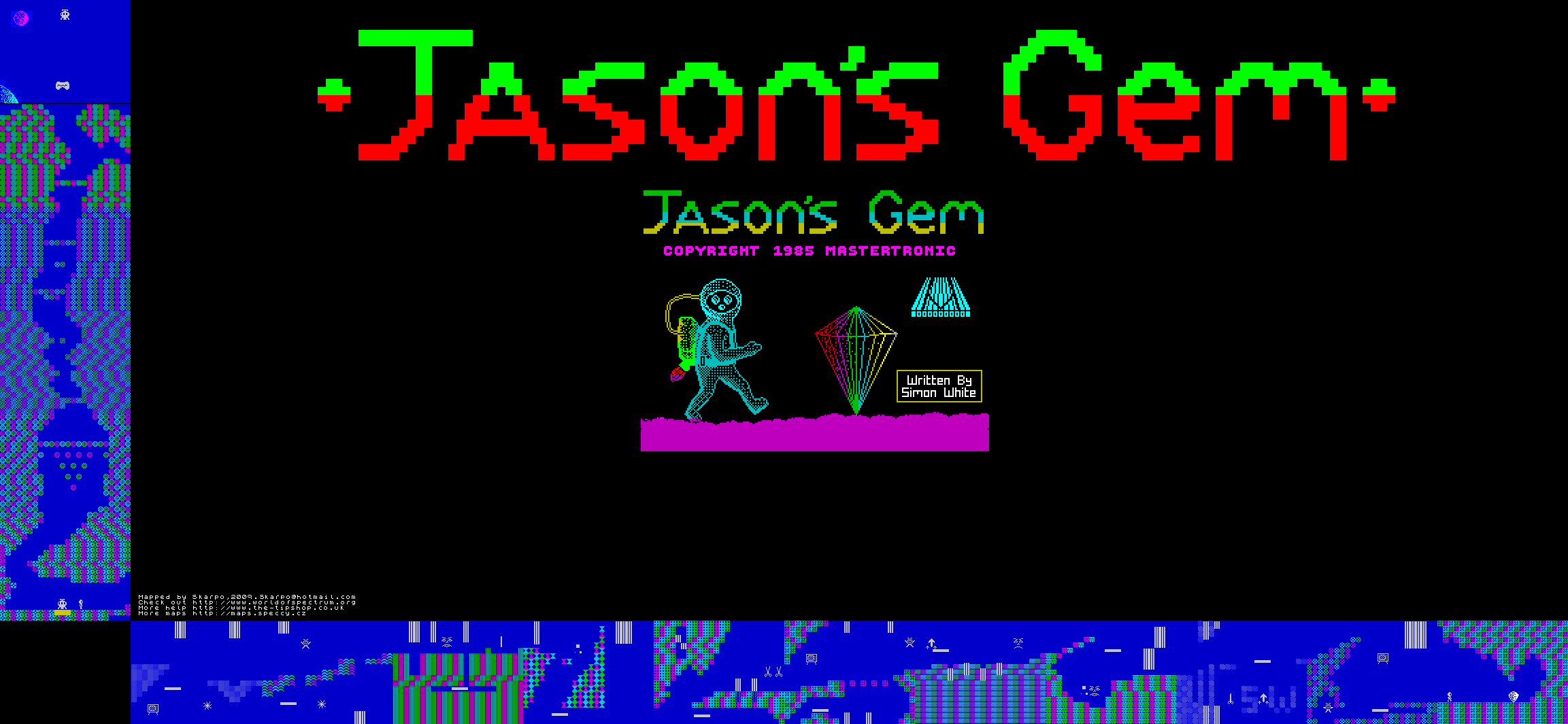 Jason's Gem - The Map