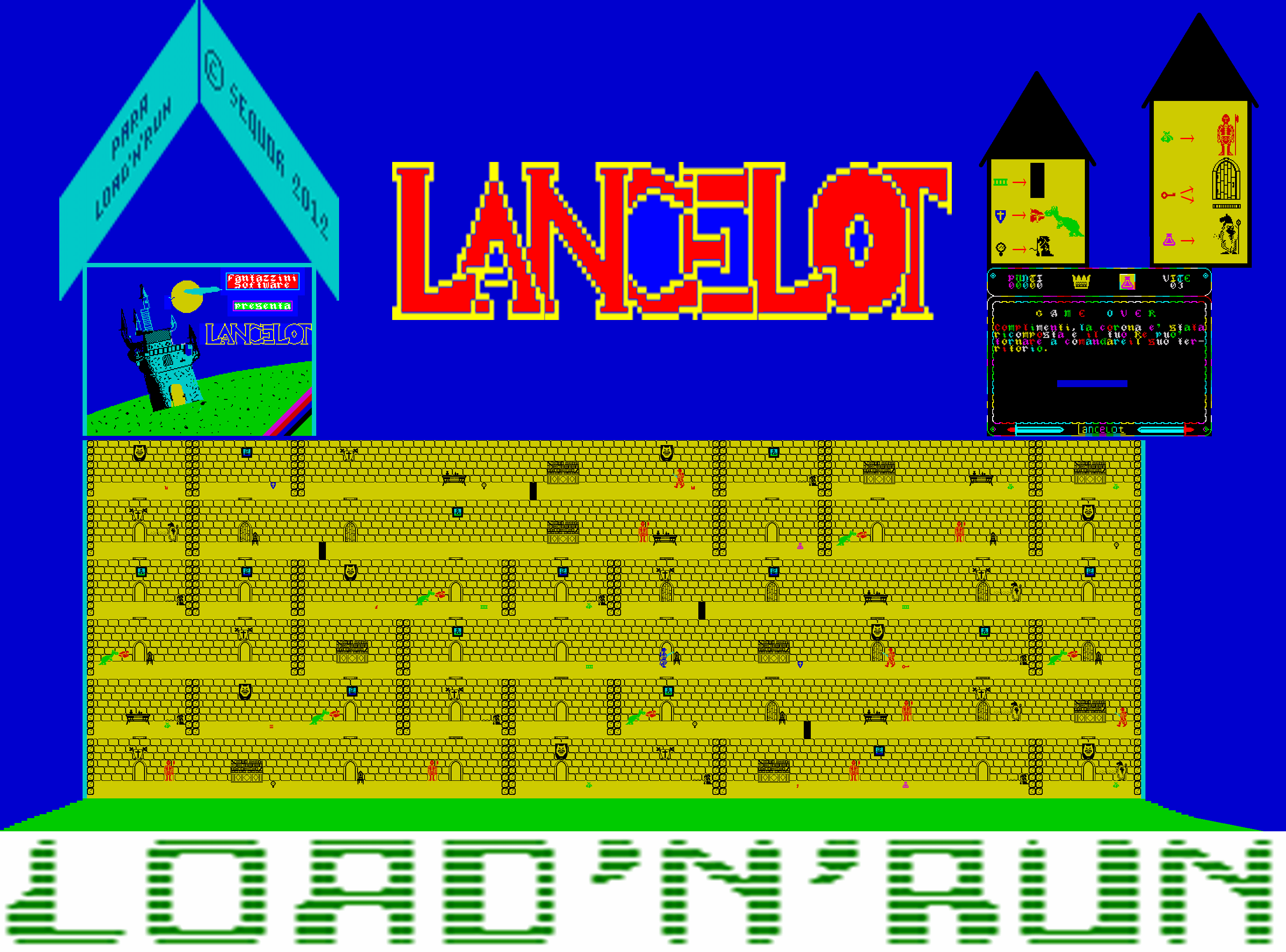 Lancelot (Load 'n' Run) - The Map