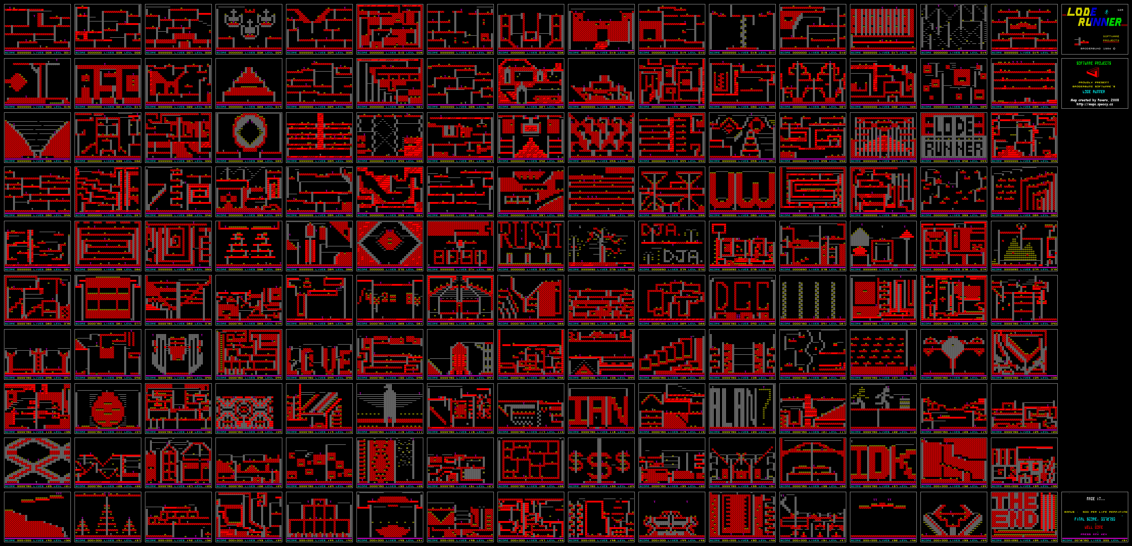 Lode Runner - The Map