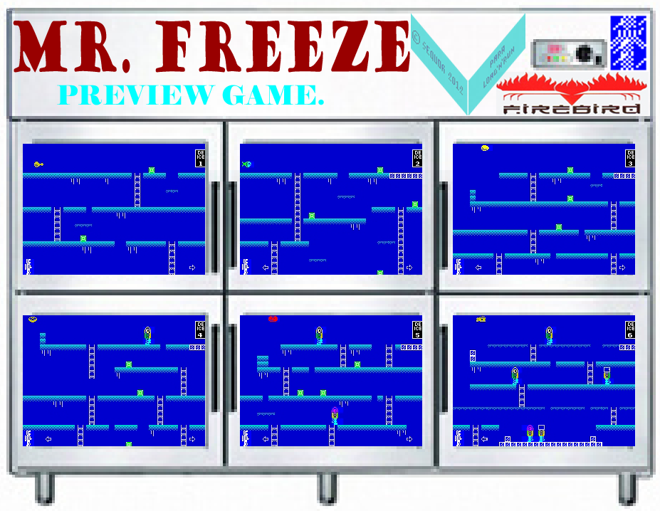 Mr. Freeze - The Map