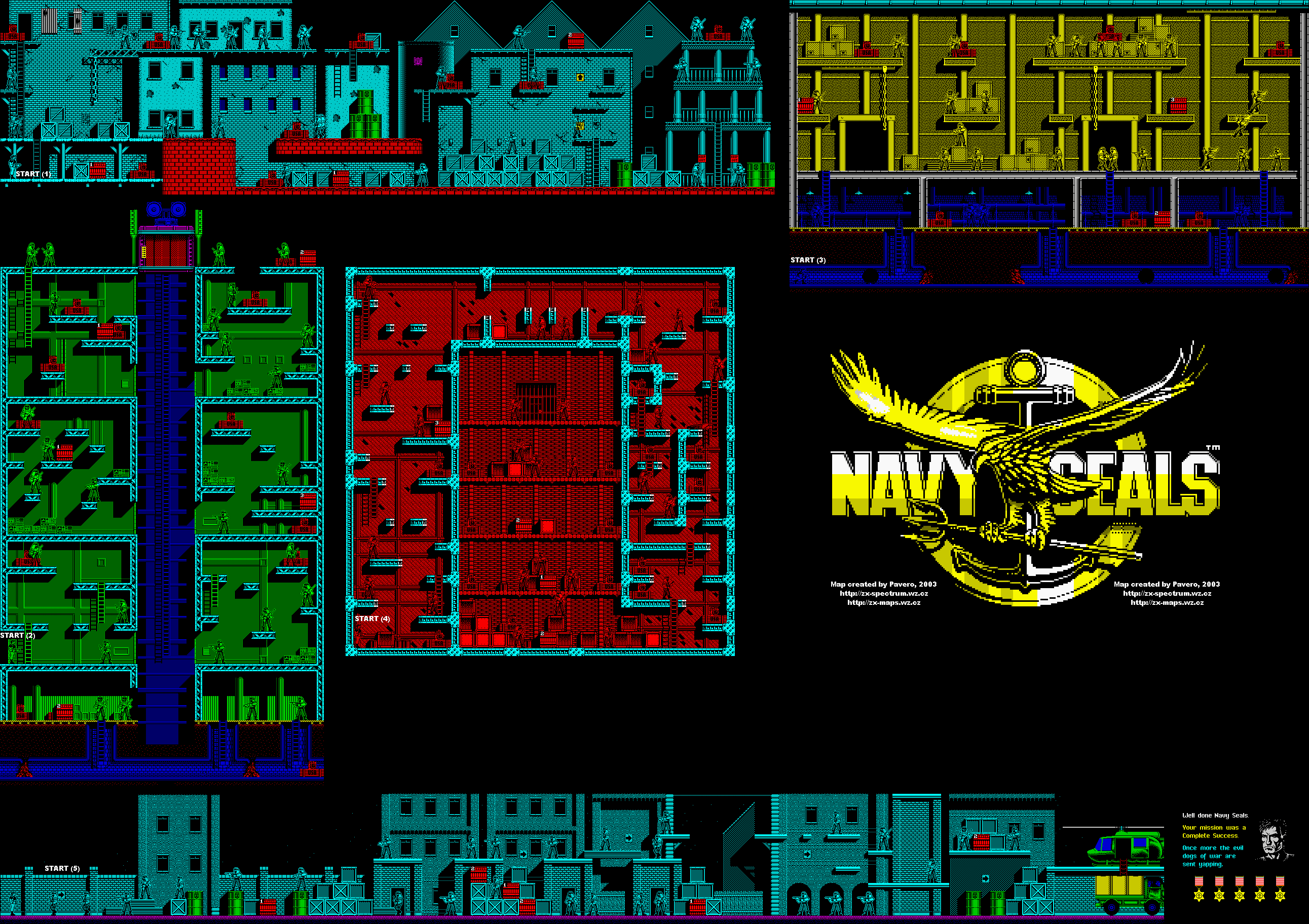 Navy Seals 1 - The Map