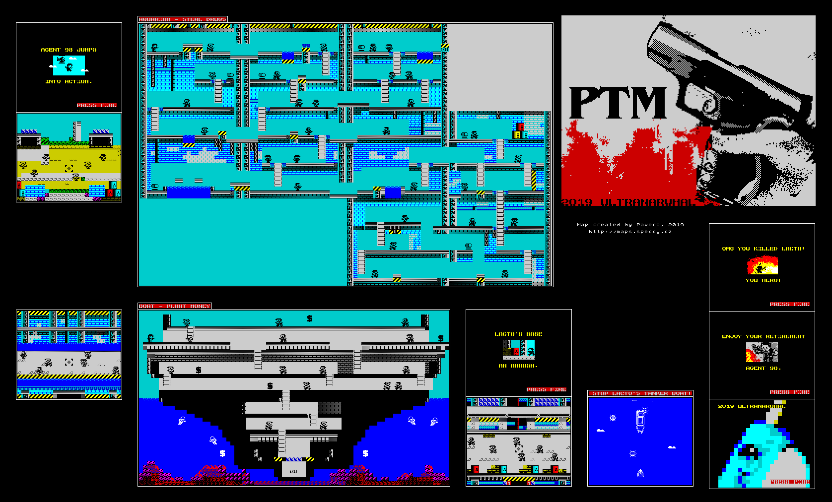 PTM - The Map