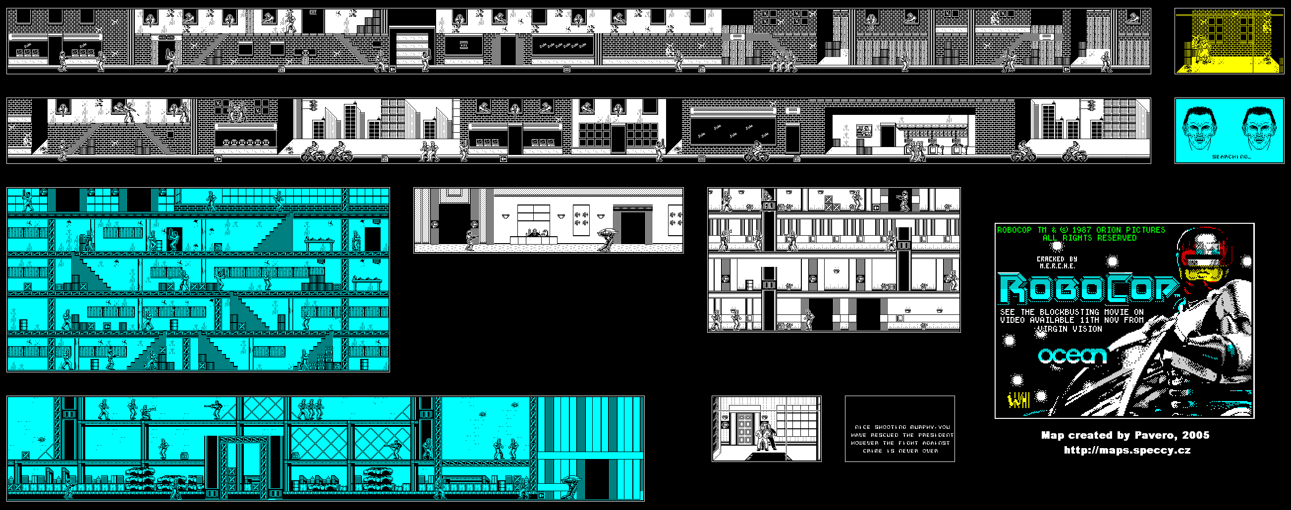Robocop 1 - The Map