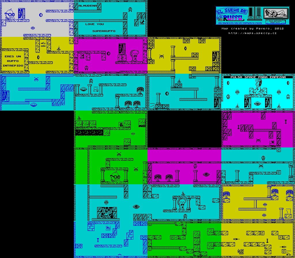 Ruffo's Dream - The Map