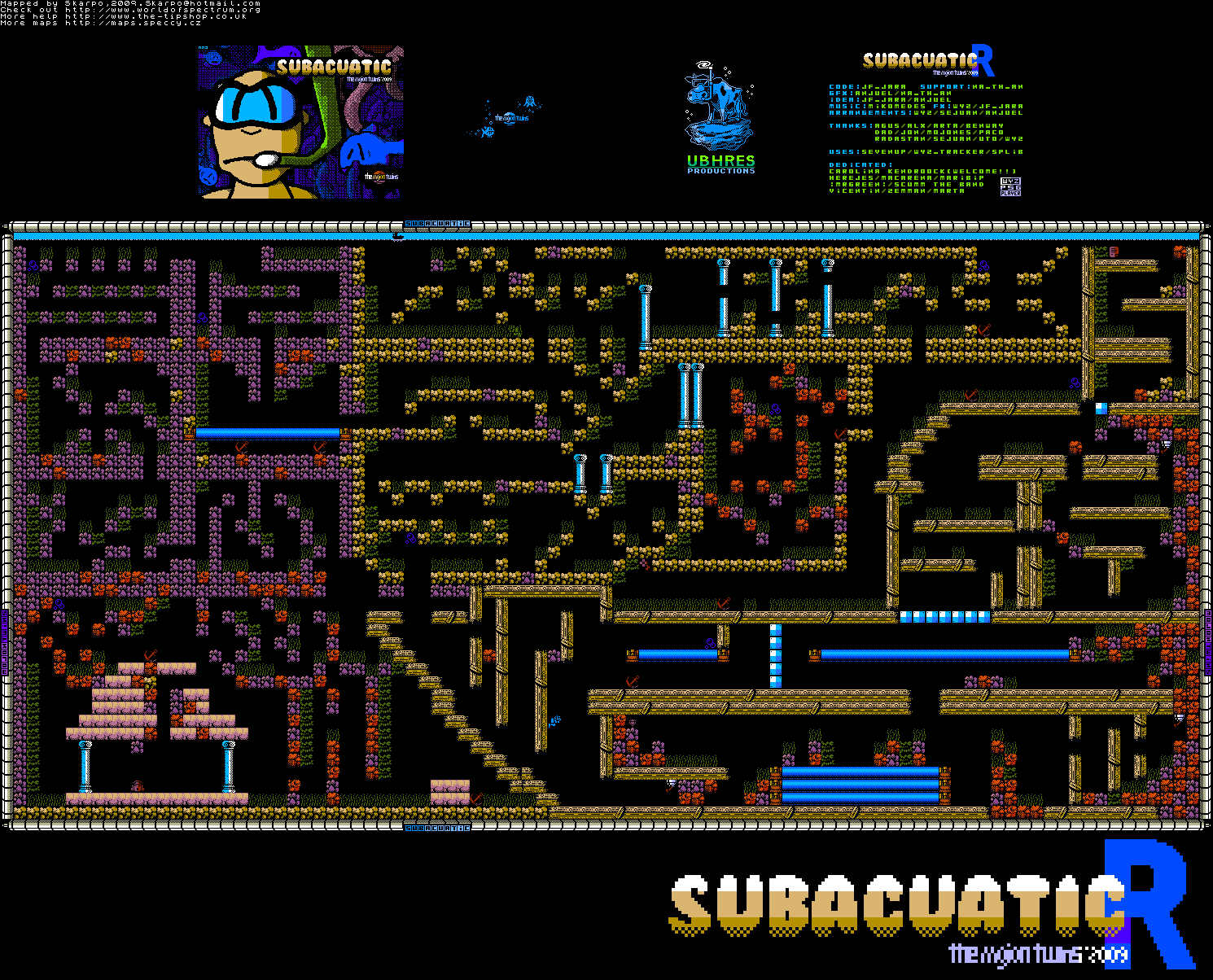 Subacuatic 2 - Reloaded (64 colours) - The Map