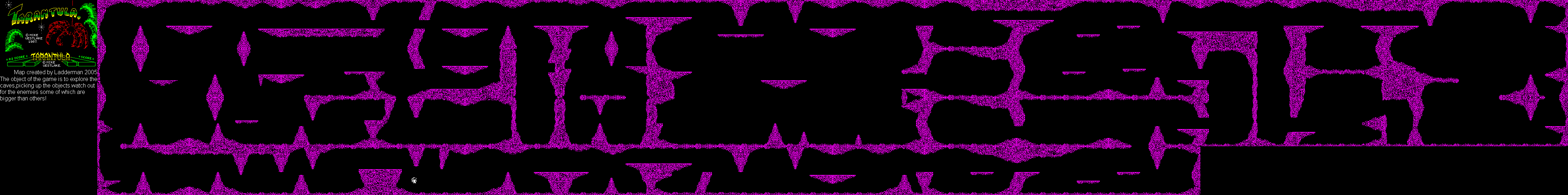 Tarantula - The Map