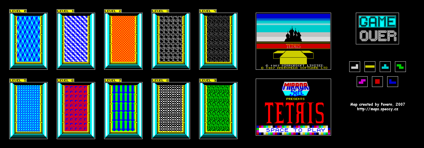 Tetris 3 - The Map