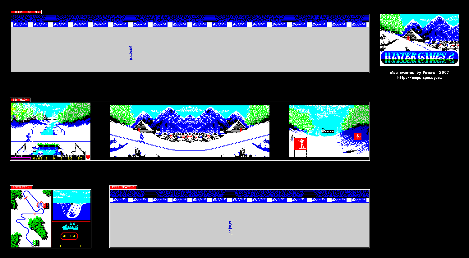 Winter Games 2 - The Map