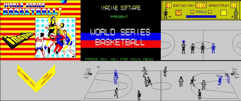 World Series Basketball - The Map